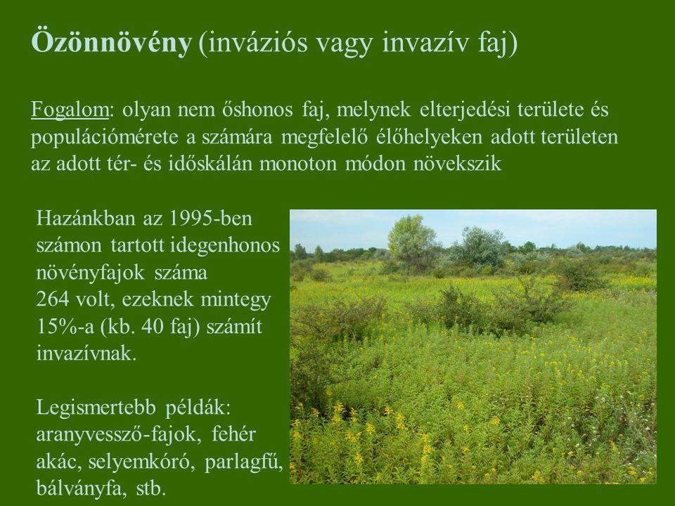 Özönnövény (inváziós vagy invazív faj)