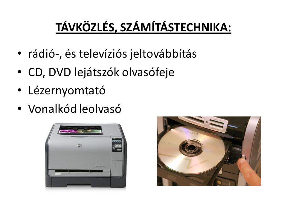TÁVKÖZLÉS, SZÁMÍTÁSTECHNIKA: