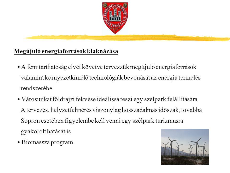 Megújuló energiaforrások kiaknázása