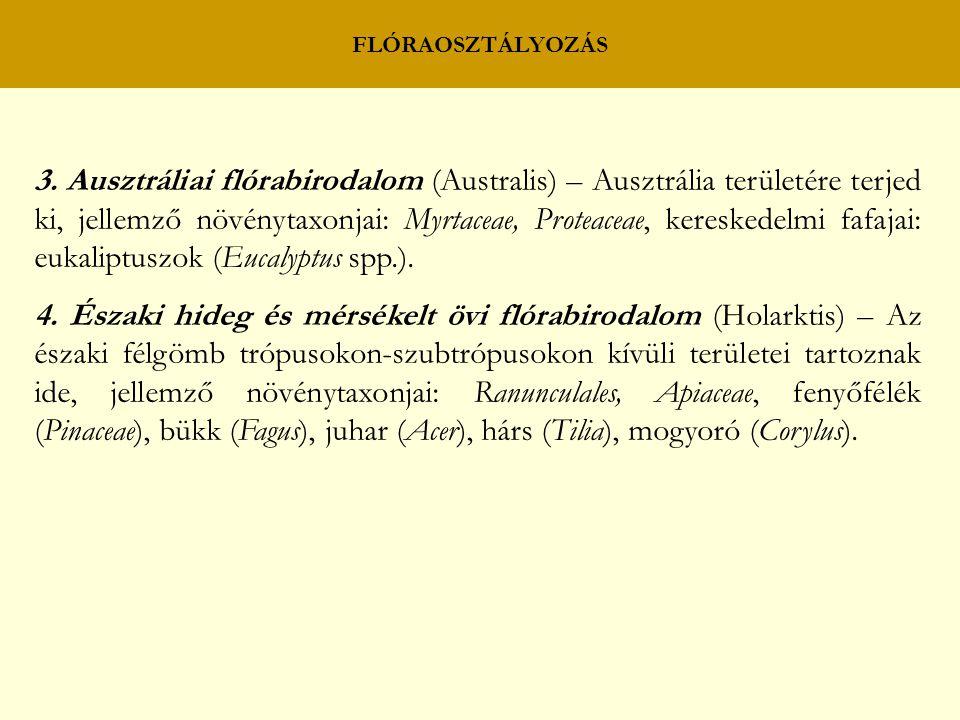 FLÓRAOSZTÁLYOZÁS