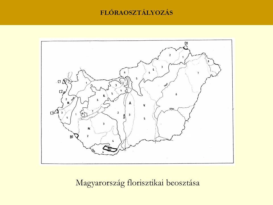Magyarország florisztikai beosztása