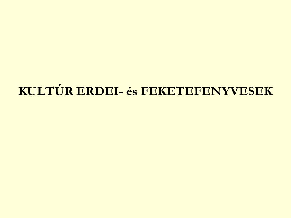 KULTÚR ERDEI- és FEKETEFENYVESEK