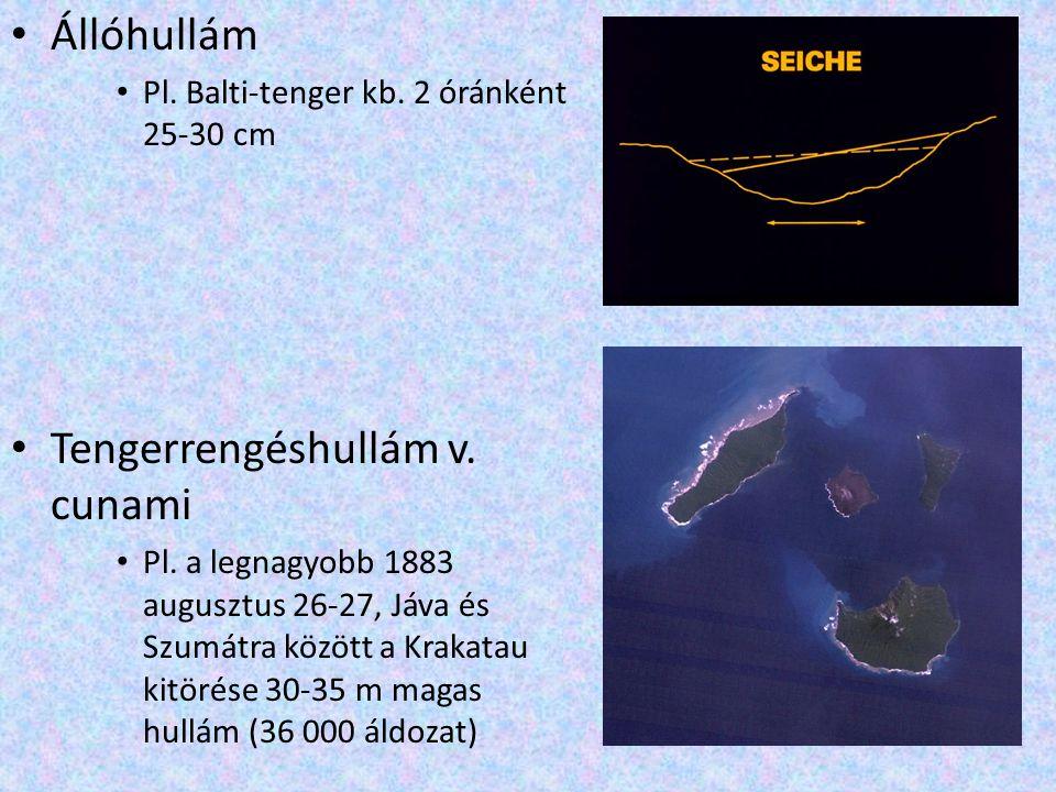 Tengerrengéshullám v. cunami