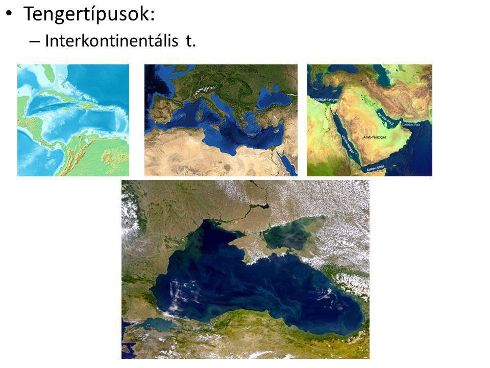 Tengertípusok: Interkontinentális t.
