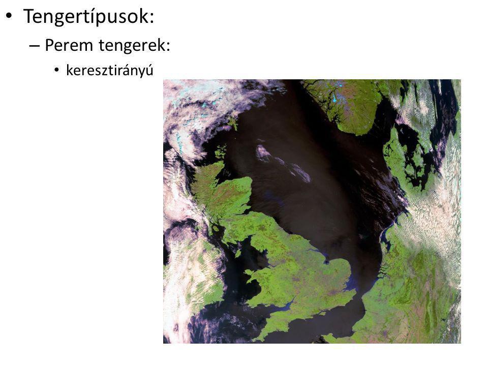 Tengertípusok: Perem tengerek: keresztirányú