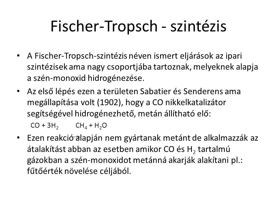 Fischer-Tropsch - szintézis