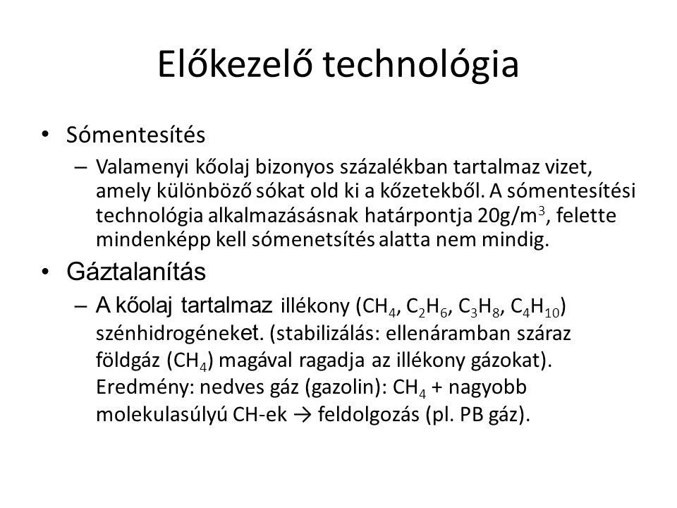 Előkezelő technológia