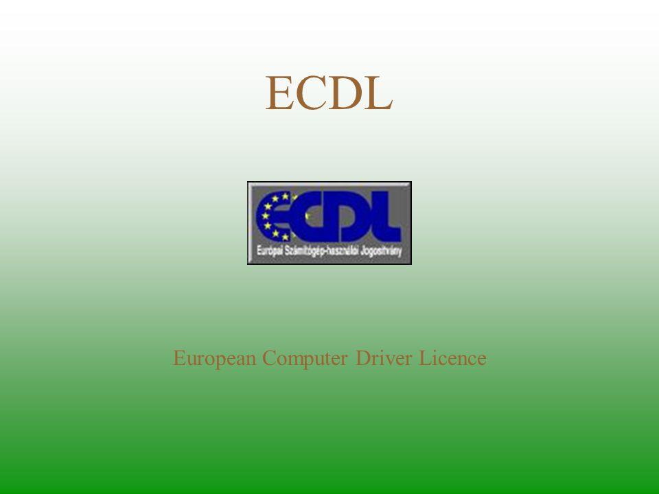European Computer Driver Licence
