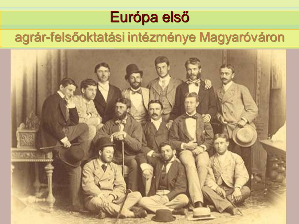 agrár-felsőoktatási intézménye Magyaróváron