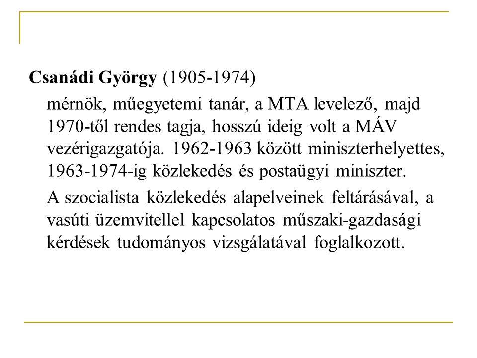 Csanádi György (1905-1974)