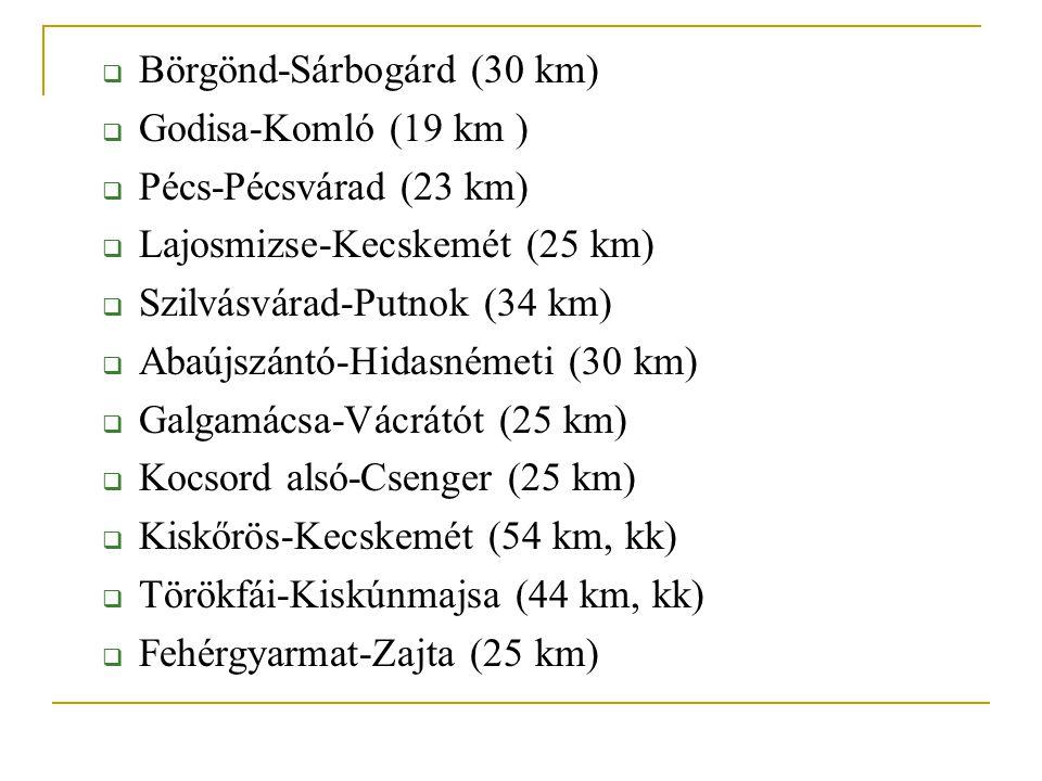 Börgönd-Sárbogárd (30 km)