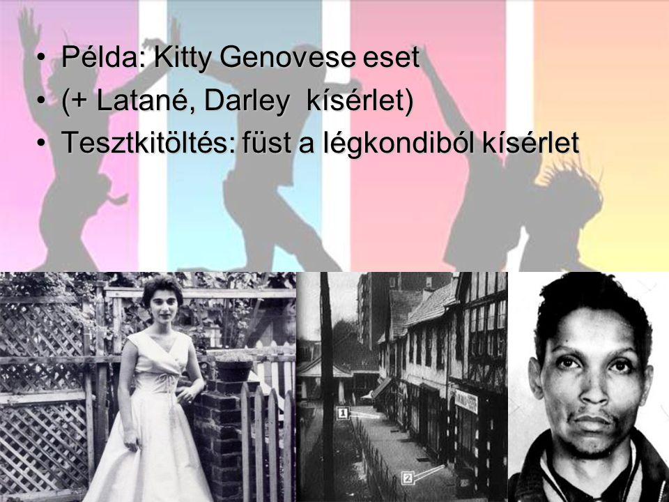 Példa: Kitty Genovese eset
