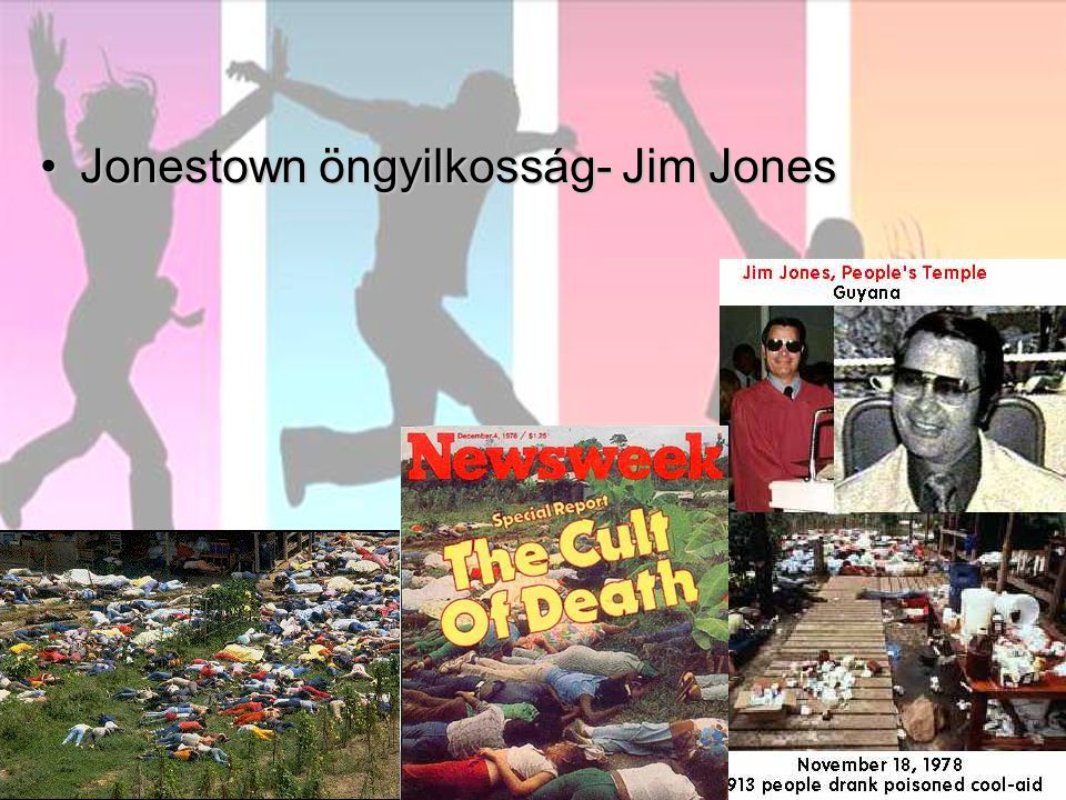 Jonestown öngyilkosság- Jim Jones