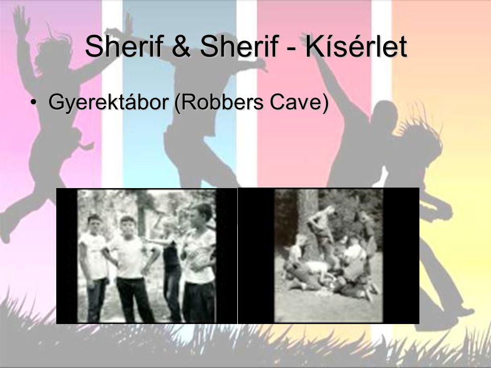 Sherif & Sherif - Kísérlet