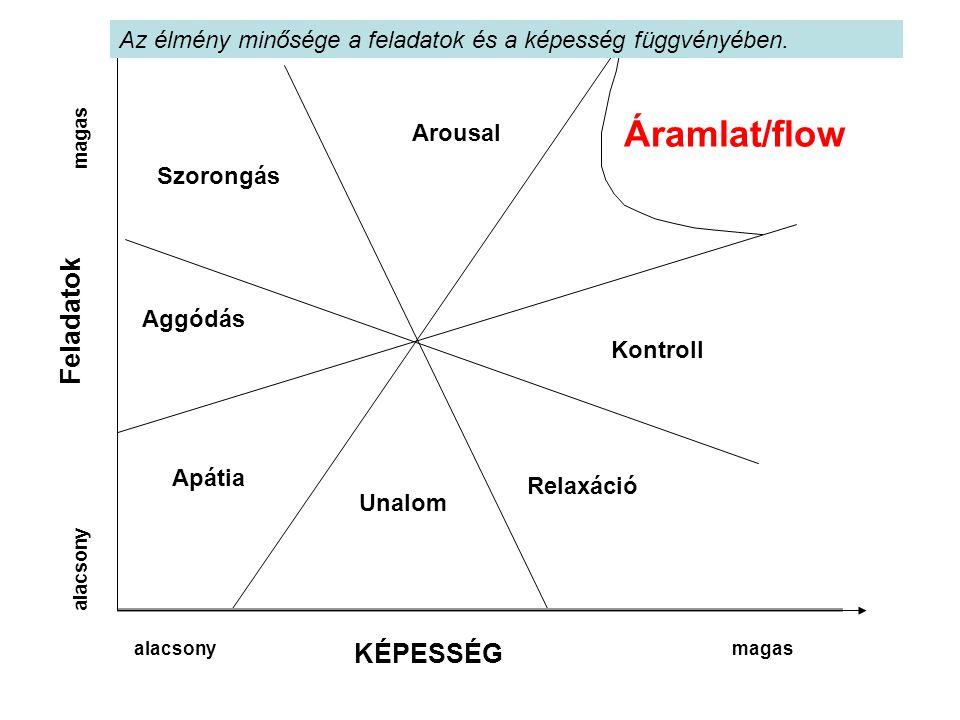 Áramlat/flow Feladatok KÉPESSÉG