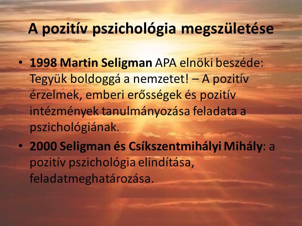 A pozitív pszichológia megszületése