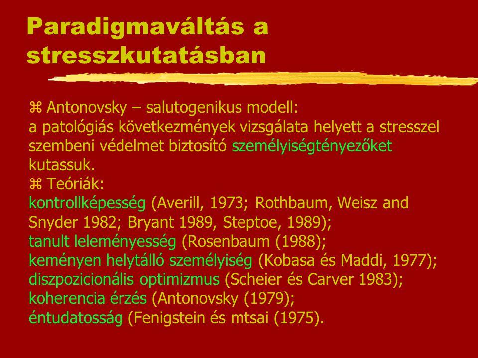 Paradigmaváltás a stresszkutatásban