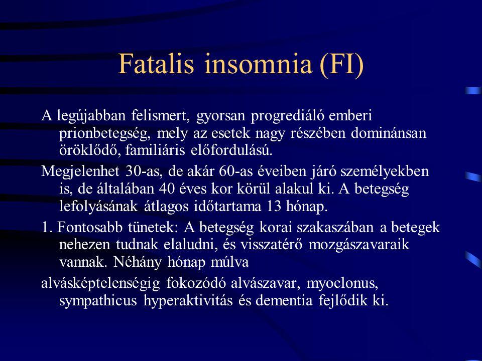 Fatalis insomnia (FI)