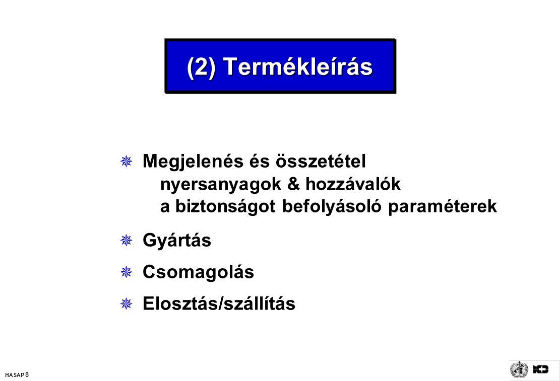 (2) Termékleírás Megjelenés és összetétel nyersanyagok & hozzávalók