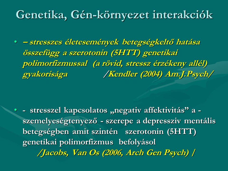 Genetika, Gén-környezet interakciók