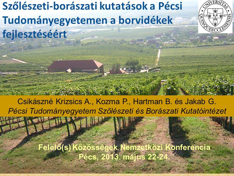 Felelő(s) Közösségek Nemzetközi Konferencia