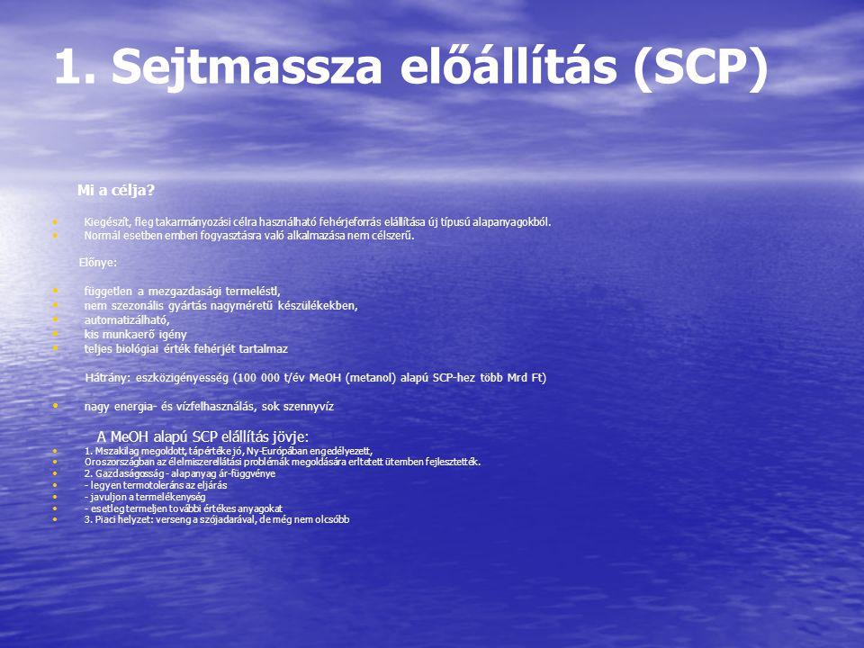 1. Sejtmassza előállítás (SCP)