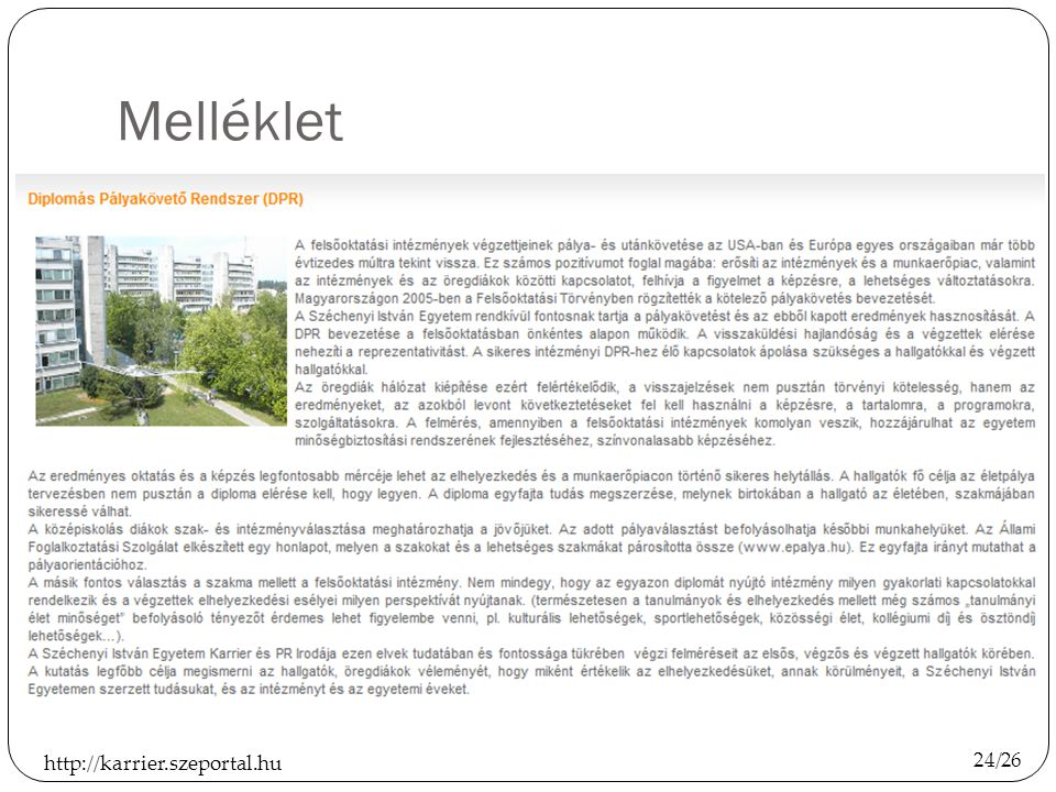 Melléklet http://karrier.szeportal.hu 24/26