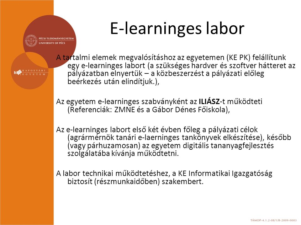 E-learninges labor