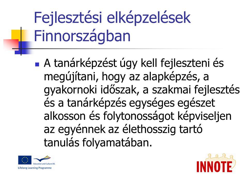 Fejlesztési elképzelések Finnországban