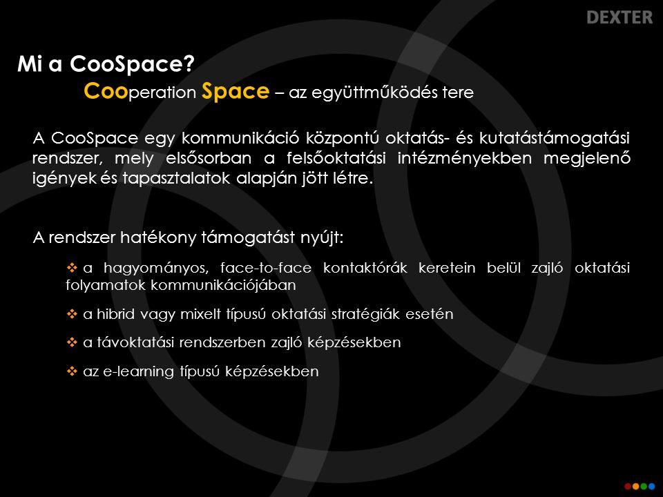 Cooperation Space – az együttműködés tere