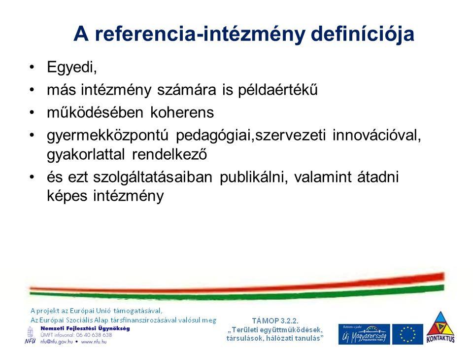 A referencia-intézmény definíciója
