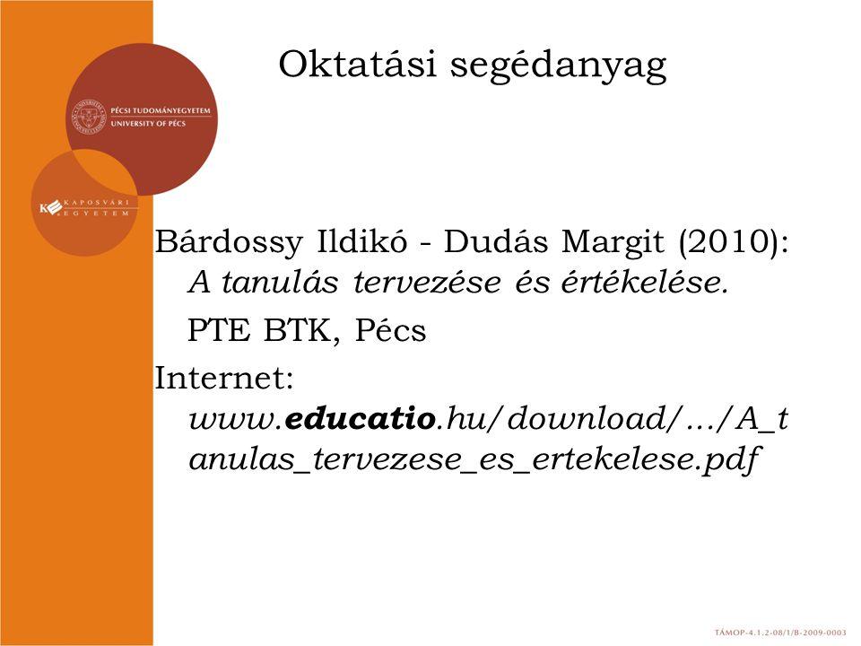 Oktatási segédanyag