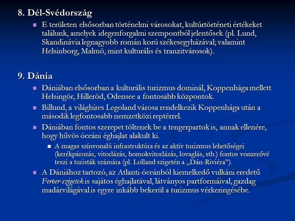 8. Dél-Svédország