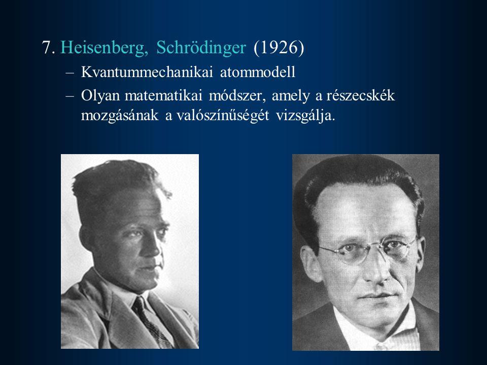 7. Heisenberg, Schrödinger (1926)