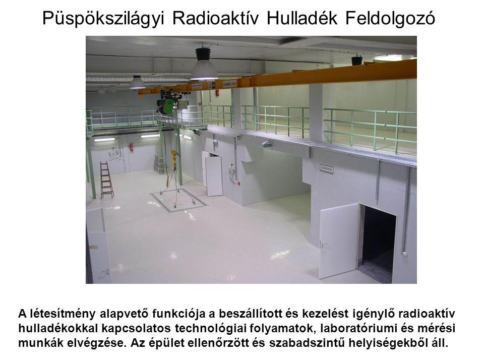 Püspökszilágyi Radioaktív Hulladék Feldolgozó