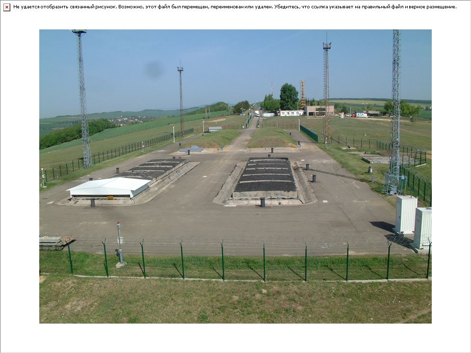 Végleges tárolóterek A végleges tárolóterek az aktív épülettől 150 méterre helyezkednek el. A tárolóhelyek két lépcsőben épültek meg.