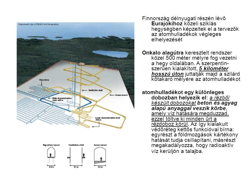 Finnország délnyugati részén lévő Eurajokihoz közeli sziklás hegységben képzeltek el a tervezők az atomhulladékok végleges elhelyezését