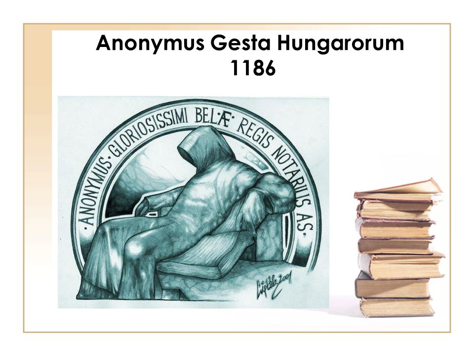 Anonymus Gesta Hungarorum 1186