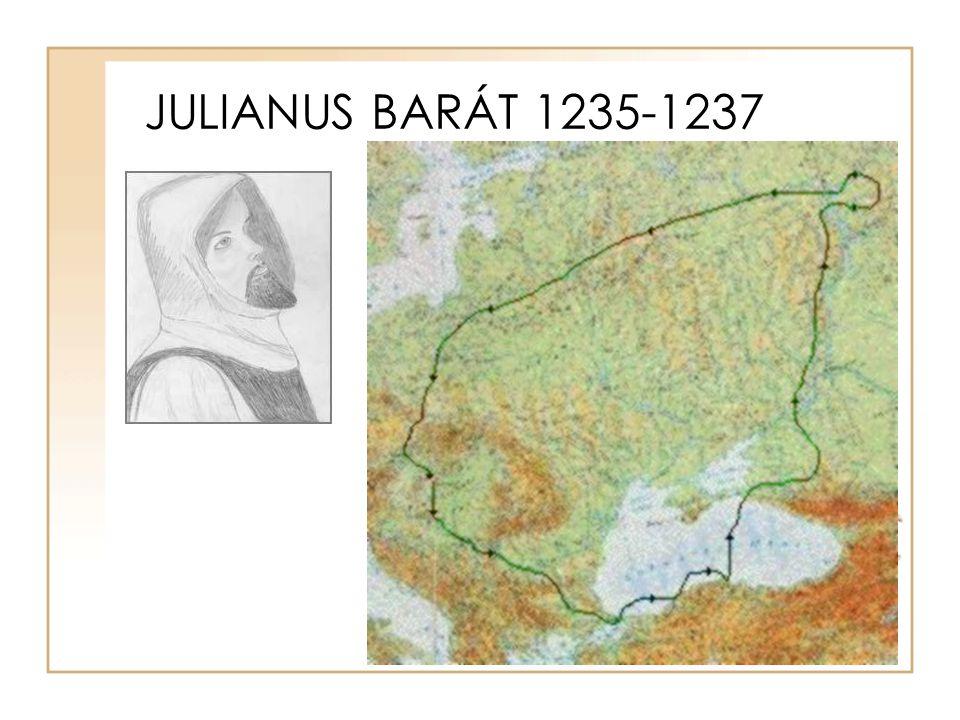 JULIANUS BARÁT 1235-1237