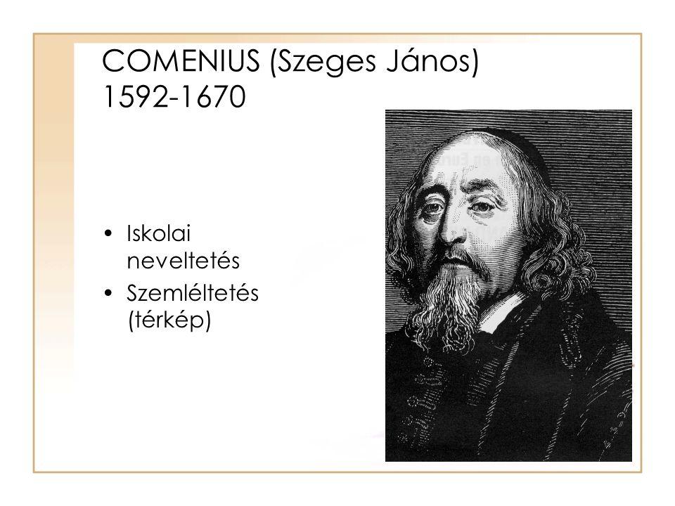 COMENIUS (Szeges János) 1592-1670