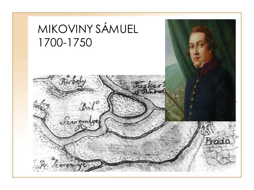MIKOVINY SÁMUEL 1700-1750