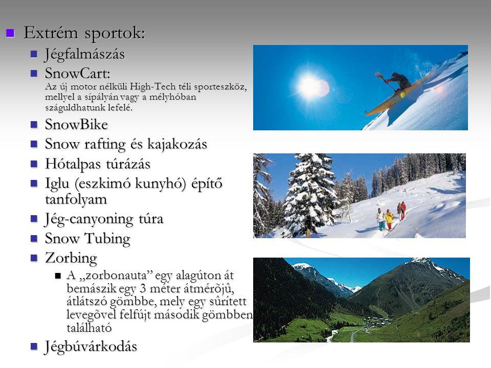Extrém sportok: Jégfalmászás