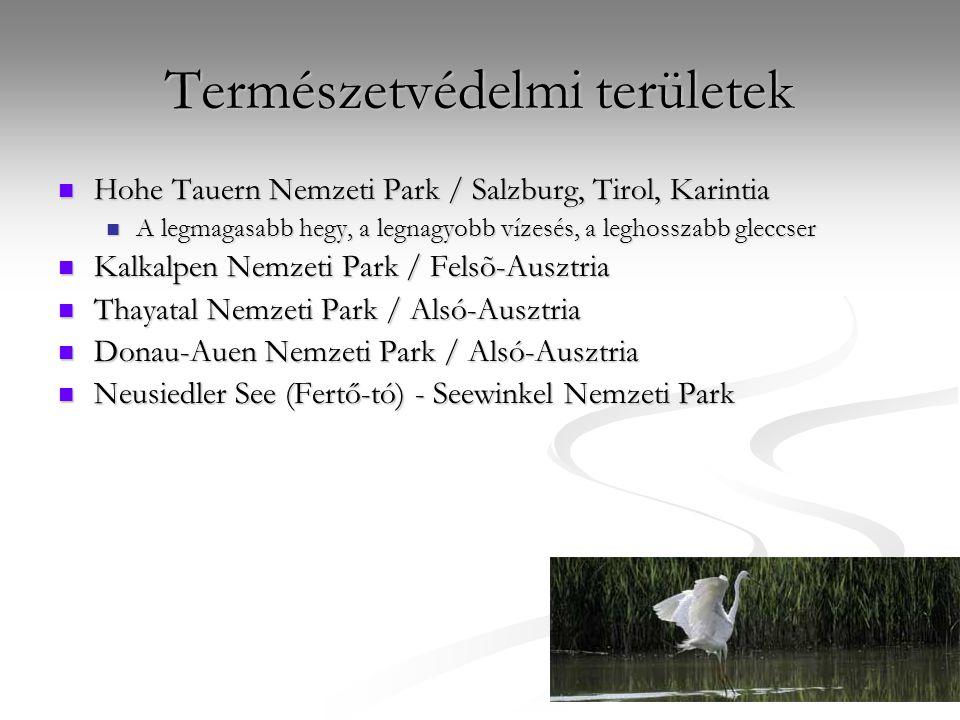 Természetvédelmi területek