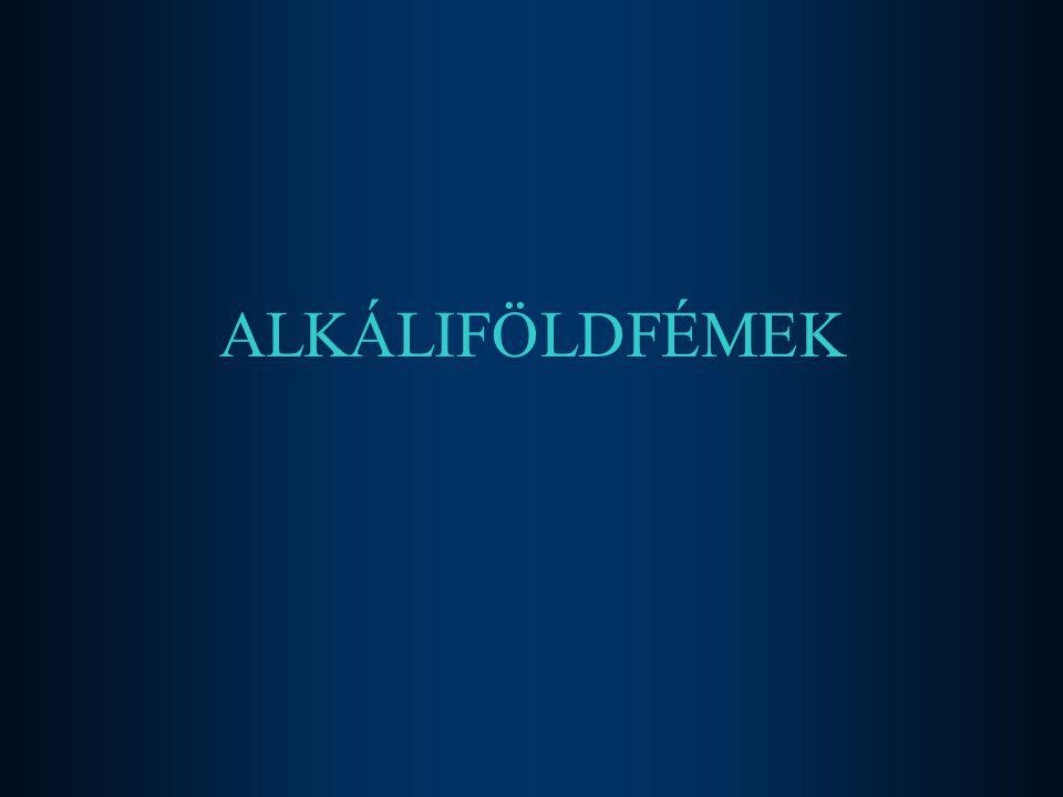 2017.04.04. ALKÁLIFÖLDFÉMEK