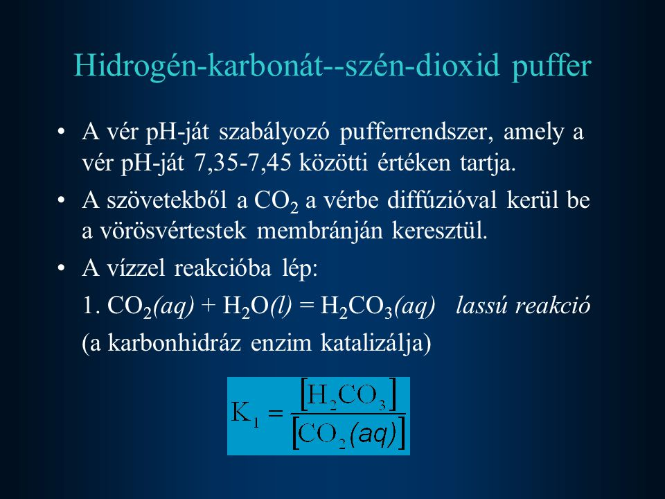 Hidrogén-karbonát--szén-dioxid puffer