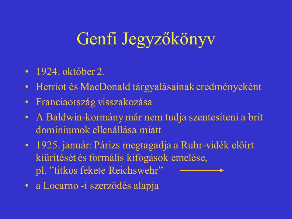 Genfi Jegyzőkönyv 1924. október 2.