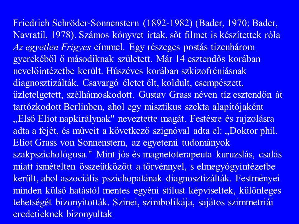 Friedrich Schröder-Sonnenstern (1892-1982) (Bader, 1970; Bader, Navratil, 1978).