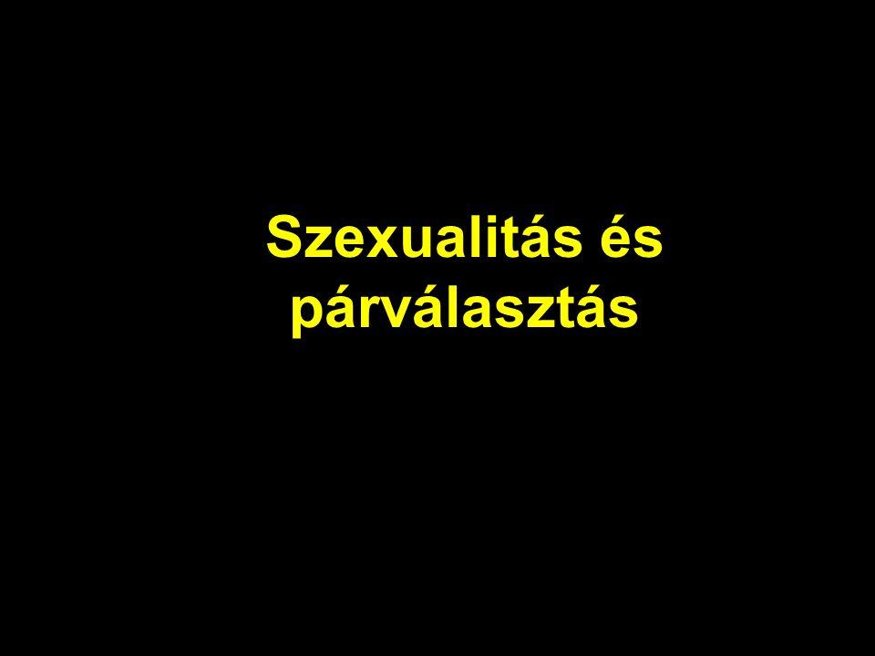 Szexualitás és párválasztás