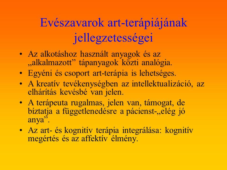 Evészavarok art-terápiájának jellegzetességei