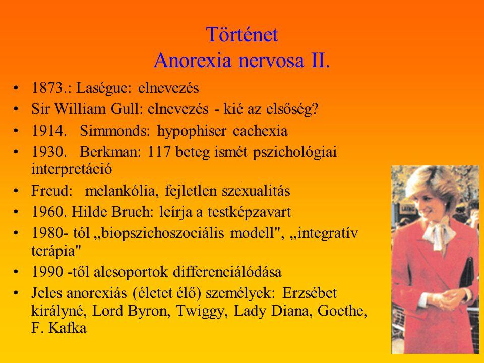 Történet Anorexia nervosa II.